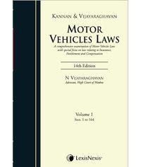 Motor Vehicles Laws (Set of 2 Vols.)