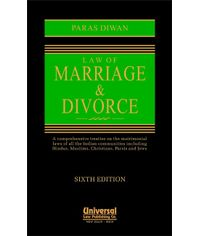 Law of Marriage and Divorce, 6th Edn.
