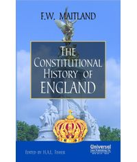 Constitutional History of England, (Indian Economy Reprint)