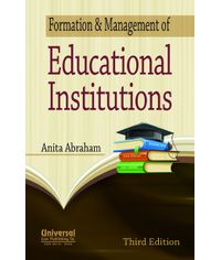Formation & Management of Educational Institutions, 3rd Edn.
