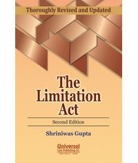 Textbook on The Limitation Act, 2nd Edn. 2012 (Reprint)