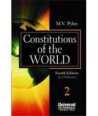 Constitutions of the World, 4th Edn. (In 2 Vols.)