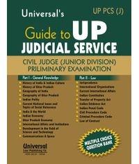 Guide to UP Judicial Service  Civil Judge (Junior Division) Preliminary Examination, 3rd Edn.h