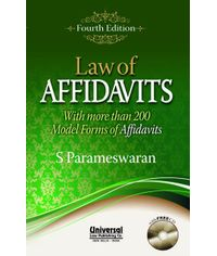 Law of Affidavits with more than 200 Model Forms of Affidavits, 4th Edn. 2013 (Reprint)