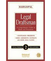 Legal Draftsman (A Comprehensive Guide to Deeds and Documents), 13th Edn. 2013 (In 2 Vols.) (77th Year of Publication) with Free editable CD of Drafts