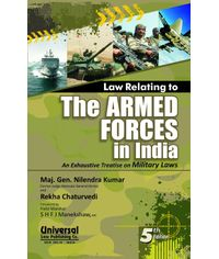 Law Relating to the Armed Forces in India, 5th Edn.