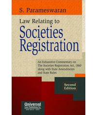 Law Relating to Societies Registration, 2nd Edn.