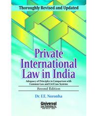 Private International Law in India, 2nd Edn. 2013 (Reprint)