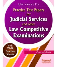 Practice Test Papers for Judicial Service and other Law competitive Examinations, 4th Edn.