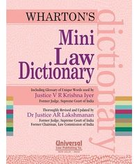 Mini Law Dictionary, 16th Edn. 2013, (Mini) (Reprint)