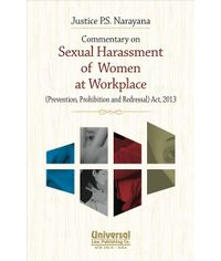 Commentary on Sexual Harassment of Women at Workplace (Prevention, Prohibition and Redressal) Act, 2013, 2013 Edn. (Reprint)