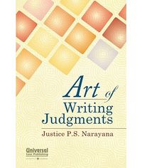 Art of Writing Judgments, (Reprint)