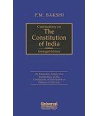 Commentary on The Constitution of India (Enlarged Edition) (Reprint)