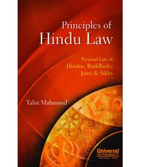 Principles of Hindu Law  Personal Law of Hindus, Buddhists, Jains & Sikhs