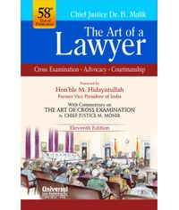 Art of a Lawyer -Cross Examination, Advocacy, Courtmanship, 11th Edn. 2014, (Reprint)