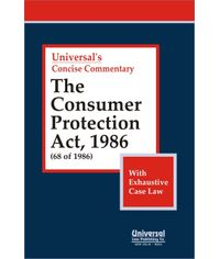 Consumer Protection Act, 1986 (68 of 1986) with Exhaustive Case Law
