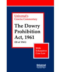 Dowry Prohibition Act, 1961 (28 of 1961) With Exhaustive Case Law