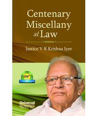 Centenary Miscellany at Law
