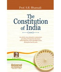 Constitution of India  An article wise exhaustive Commentary providing all important decisions of the Supreme Court and High Courts during the last 65 years (In 2 Vols.)
