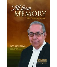 All from Memory  An Autobiography, (Reprint)