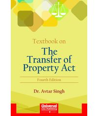 Textbook on The Transfer of Property Act, 4th Edn. (Reprint)