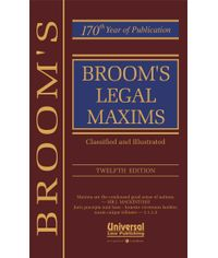 Legal Maxims, 12th Edn.