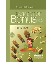 Practical Guide to Payment of Bonus Act & Rules, 6th Edn.