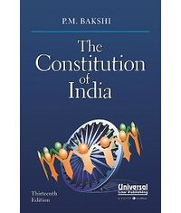 Constitution of India, 13th Edn. (Pocket Size)
