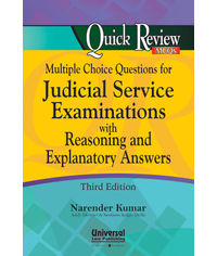 Multiple Choice Questions for Judicial Service Examinations with Reasoning & Explanatory Answers