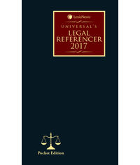 Universal's Legal Referencer 2017 (Pocket Edition)