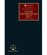 Universal's Legal Referencer 2017 (Compact Edition)