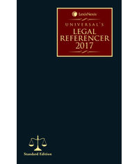 Universal's Legal Referencer 2017 (Standard Edition)