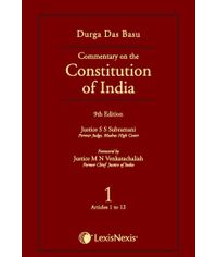 Commentary On The Constitution Of India Vol 1