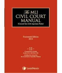 MLJ CCM Volume 11: Constitution of India?Articles 214 to 226 (Note 160) (including select extracts from the Constituent Assembly debates)