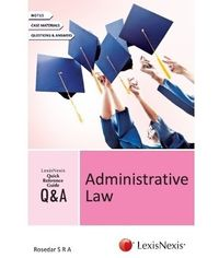 LEXISNEXIS QUICK REFERENCE GUIDE?QandA SERIES Administrative Law