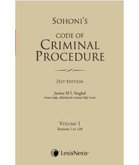 CODE OF CRIMINAL PROCEDURE VOL. 1 (Sections 1 to 128)