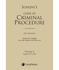 CODE OF CRIMINAL PROCEDURE VOL. 4 (Sections 272 to 394)