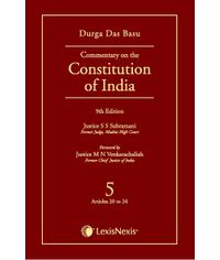 Commentary on Constitution of India Vol 5
