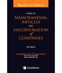 Guide to Memorandum, Articles and Incorporation of Companies