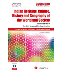 Indian Heritage, Culture, History and Geography of the World and Society (General Studies I) [Civil Services (Main) Examination]