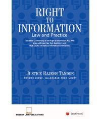 Right to Information?Law and Practice