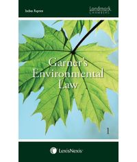 Garner's Environmental Law (Indian Reprint) (Set of 7 Volumes)