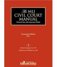 MLJ Civil Court Manual 14th Edition Vol. 1
