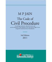 M P Jain The Code of Civil Procedure, 3/e