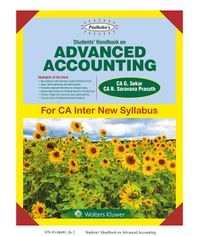 Students Handbook on Advanced Accounting