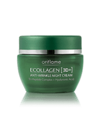 Oriflame Ecollagen 3D Anti Wrinkle Night Cream Code:20213