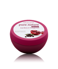 Oriflame Pure Nature Organic Acai Pomegranate Antioxidant Night Cream Code:21574