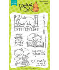 Newton's Book Club - Stamp