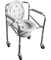COMMODE CHAIR FOLDING 696