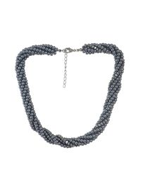 Classy Grey Pearl Necklace
